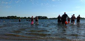 prestatietocht zwemmen