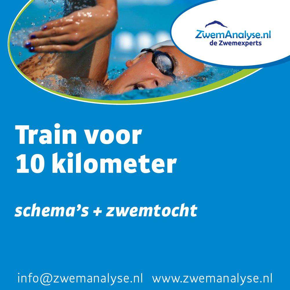 trainingsschema 10 kilometer zwemmen plus zwemtocht