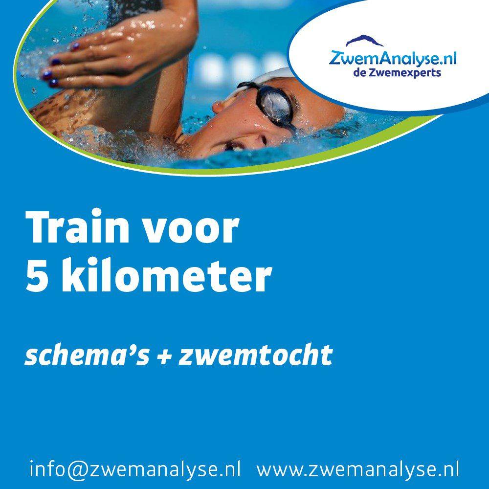Trainingsschema 5 kilometer zwemmen + zwemtocht